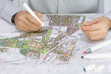 designing a landscape plan
