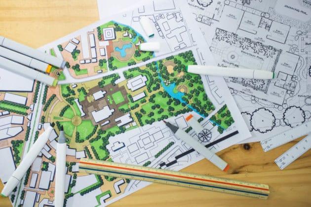 Landscape Plan designing