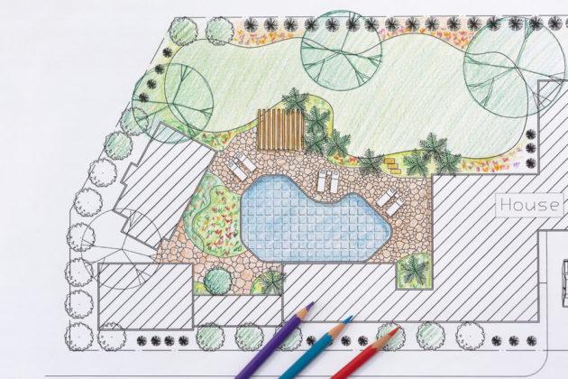 components of a landscape plan